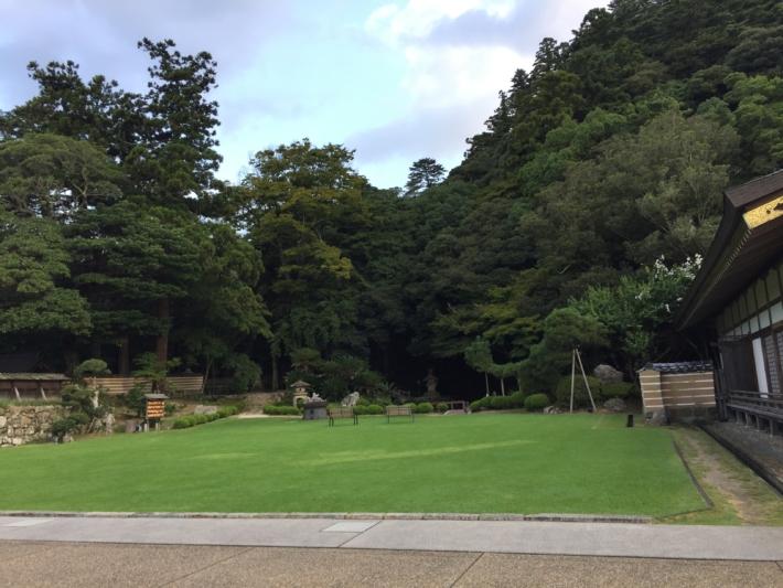 『北島国造館』庭園全景