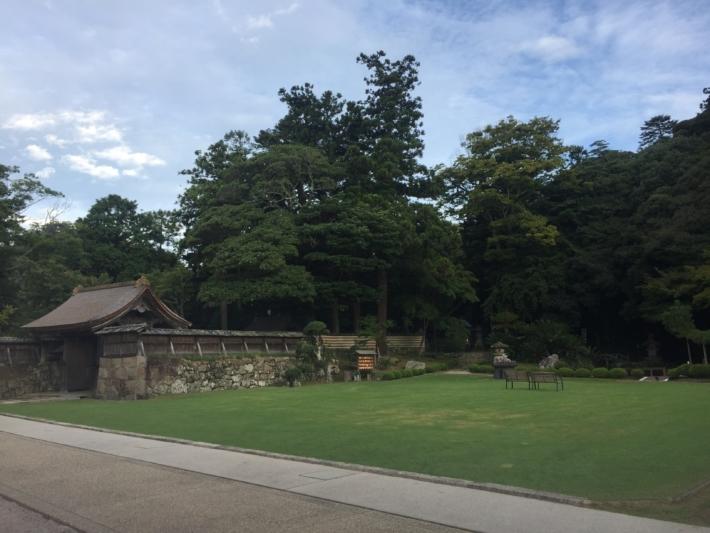 『北島国造館』庭園