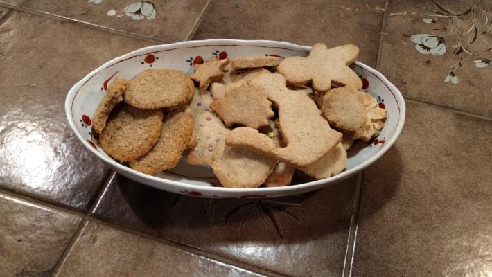 焼き上がったスダジイクッキー実食