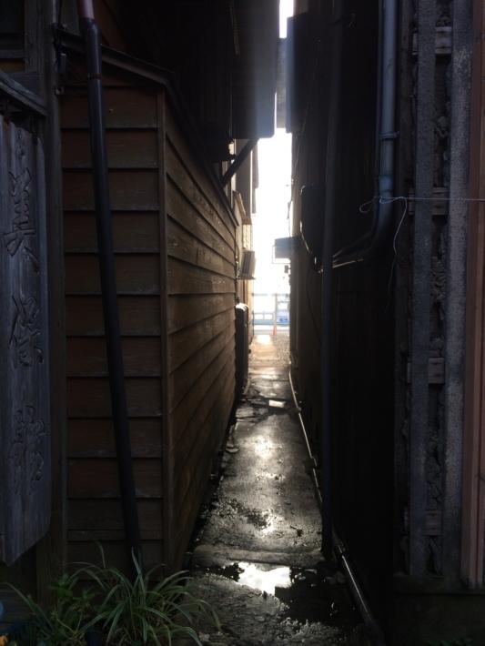 青石畳通り・路地