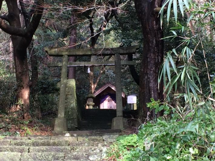 美保関・神社石段