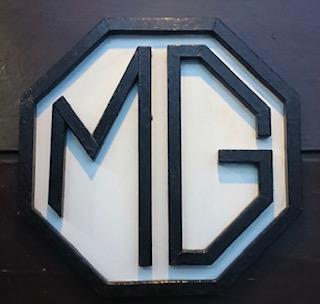 「喫茶MG」看板