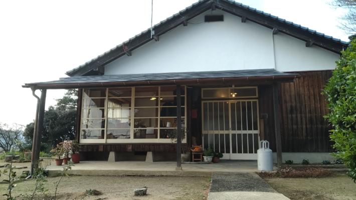コアカフェ・古民家の玄関