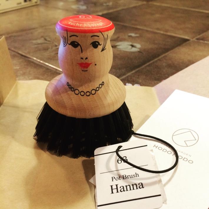 ポットブラシ「HANNA」