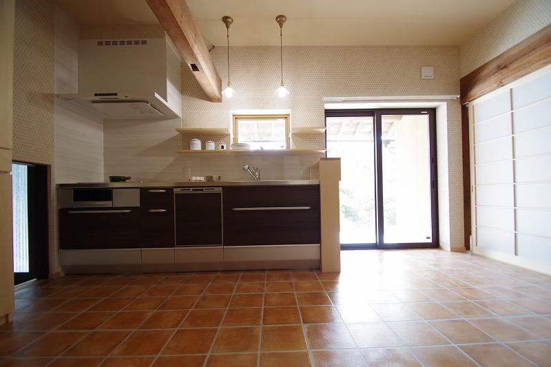 完成当時のキッチン