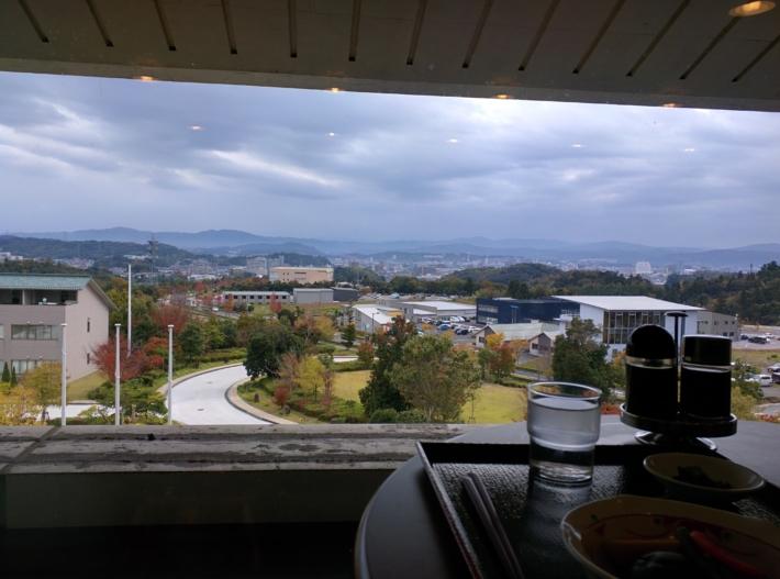 松江市を一望できるレストラン