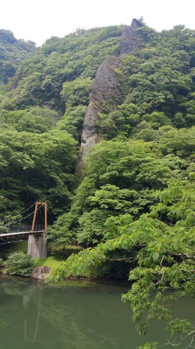 太古の仙境立久恵峡