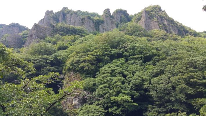 山陰の耶馬渓と謂われる立久恵峡