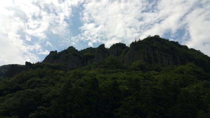立久恵峡山並み