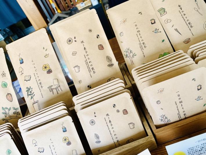 加島茶舗 暮らしをイメージしたお茶