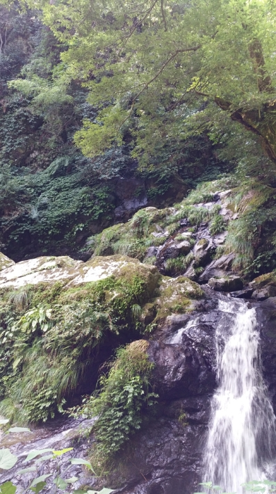 龍頭が滝「雌滝」