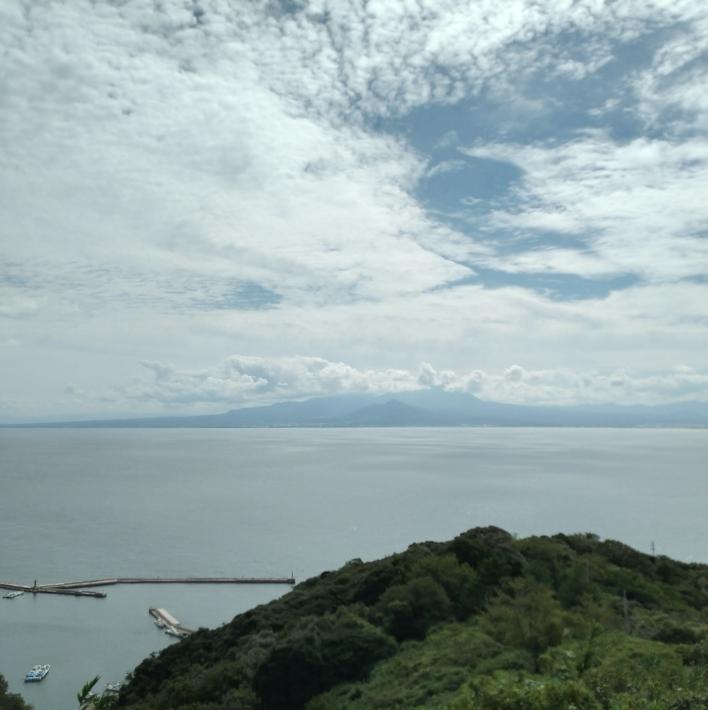 五本松公園からの美保湾の眺望
