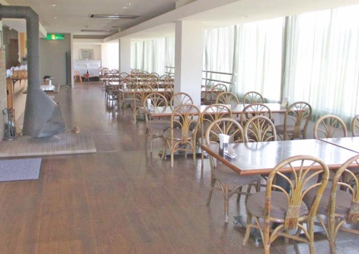 奥出雲多根自然博物館6階の【展望レストラン】は眺望も素晴らしい