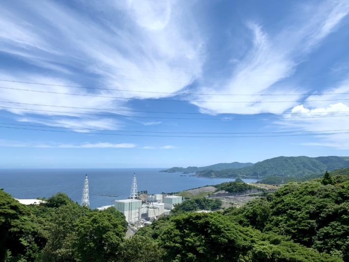 『島根原子力館』からの展望