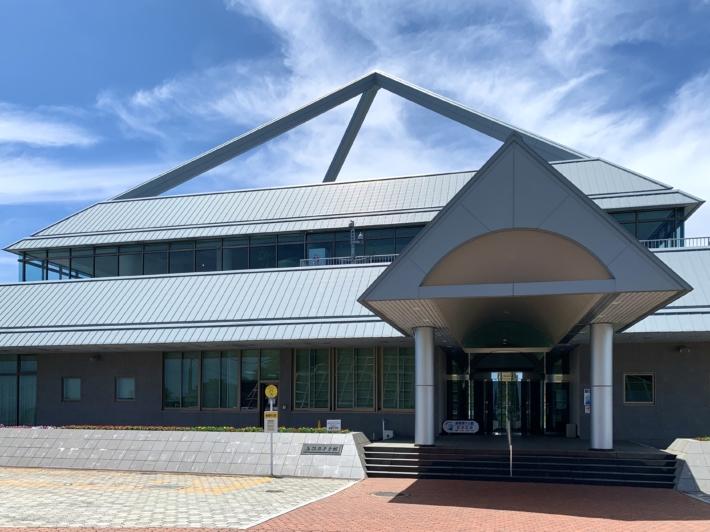 『島根原子力館』正面入口
